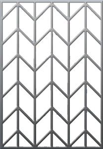 средняя цена металлической решетки